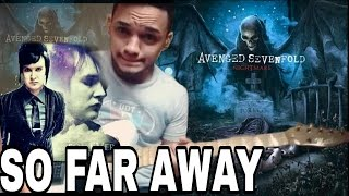 SO FAR AWAY Solo(Avenged Sevenfold)Synyster gates guitar solo cover(NIGHTMARE)Jimmy the Rev Tribute
