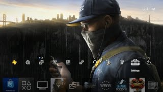 Watch Dogs 2 Marcus Dynamic Theme PS4