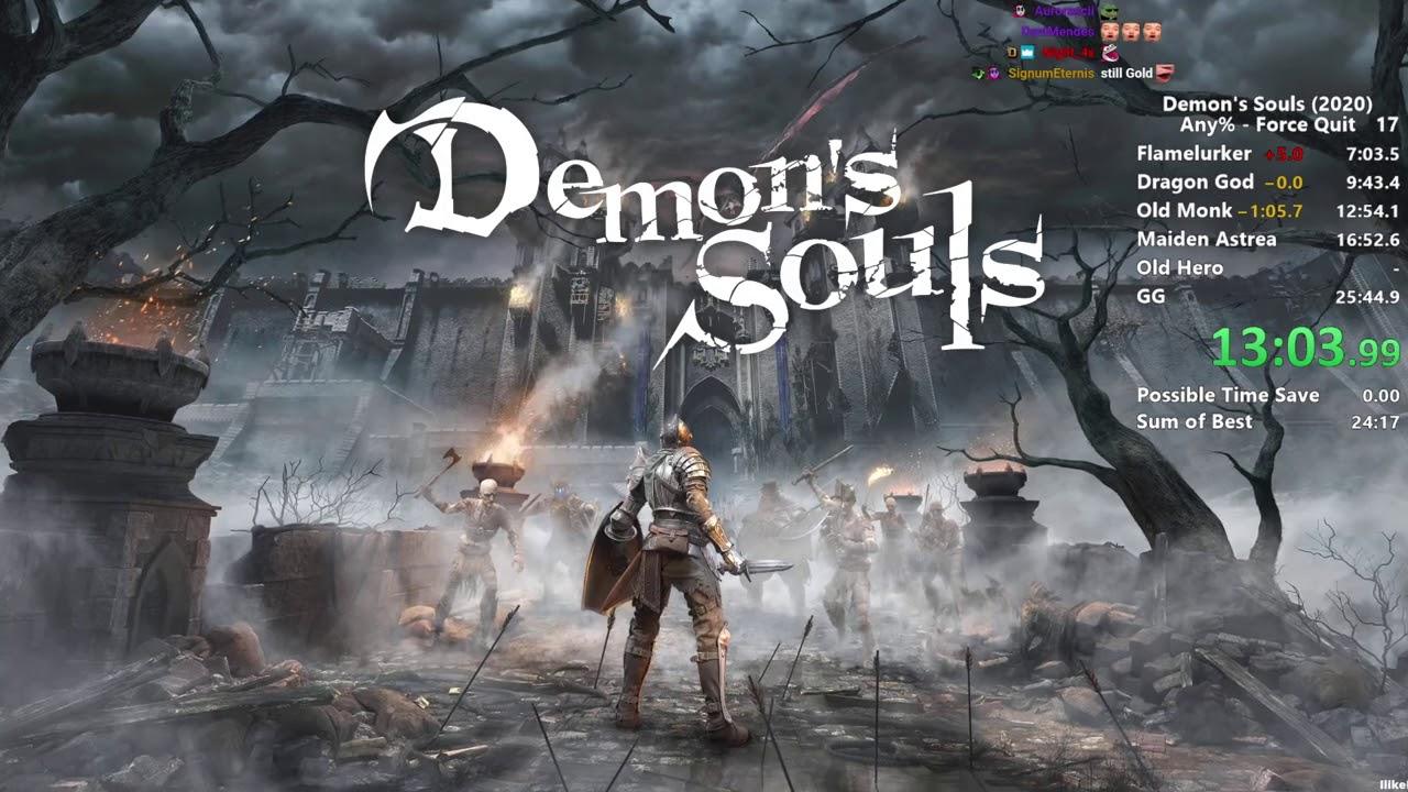 Distortion2 - Demon's Souls Remake - Any% Speedrun in 19:00 IGT