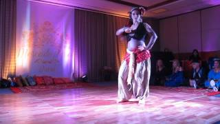 Segundo lugar solo dança cigana Mercado Persa - Camila Nickel