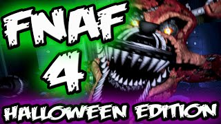 FNAF 4 HALLOWEEN EDITION! || 2 Game Versions || Five Nights at Freddy's 4 Halloween Edition