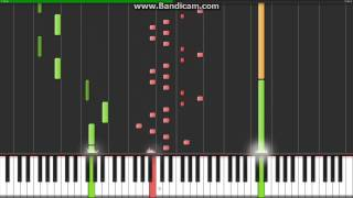 Popcorn (Crazy Frog) - Synthesia