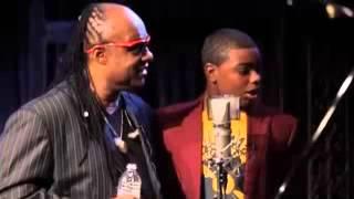 Stevie Wonder crashes boy's recording session