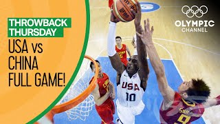 USA v China - Beijing 2008 - Basketball Replays | Throwback Thursday