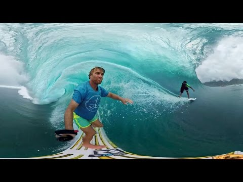GoPro VR: Tahiti Surf with Anthony Walsh and Matahi Drollet - YouTube
