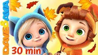 🍁 Nursery Rhymes & Kids Songs | Baby Songs | Dave and Ava 🍁