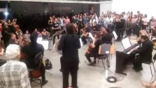 Xote das Meninas numa versão da Osba - Orquestra Sinfônica da Bahia. Palacete das Artes - 18/06/2016