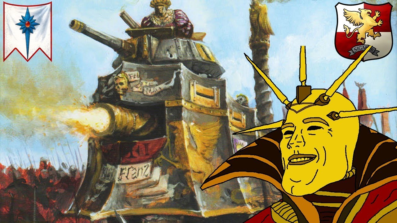 milkandcookiesTW - PANZER ON THE PROWL - Steam Tank Goes Mad! - Empire vs. High Elves - Total War Warhammer 2