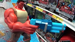 Hulk Vermelho (Red Hulk) boneco: Marvel Hulk And The Agents of S.M.A.S.H.