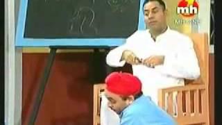 comedy school-bhagwant mann at beganing