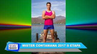 NOTA MISTER CONTAMANA 2017 II ETAPA
