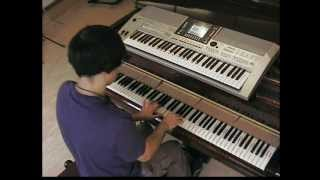 Calvin Harris & Example - We'll be coming back - piano & keyboard synth cover by LIVE DJ FLO