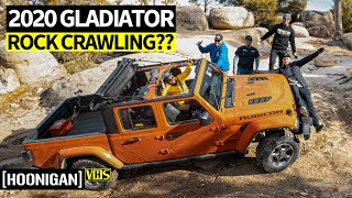 Drift Dudes Go Off-Roading: Can You Rock Crawl in a Bone Stock 2020 Jeep Gladiator?