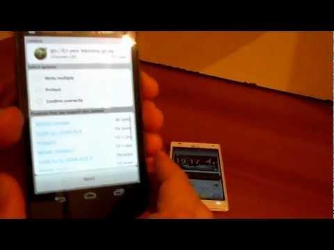 NFC etiketine Gelecekonline bildirimi yazma ve okuma