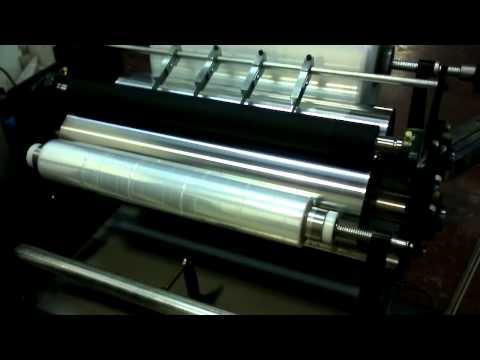 gıda ve palet streç ve aliminyum folyo  sarma makinası (dilimlemeli model)