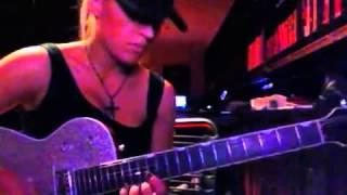 Laura Wilde playing Pseudo Echo 'Funky Town' guitar solo   YouTube
