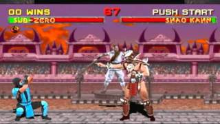 MK Arcade Kollection - How to Defeat Shao Khan in MK2