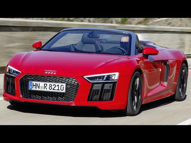 Audi R8 V10 RWS Spyder (4S)