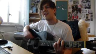 Black Veil Brides The Legacy cover on Acoustic Guitar and Singing by Karel nEscafeX Kocůrek
