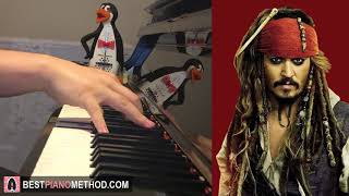 Pirates Of The Caribbean Theme (Piano Cover by Amosdoll)