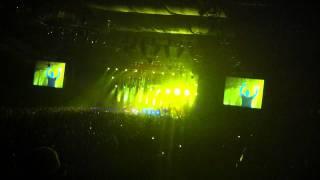 Moby - Honey (live in Moscow) 08.06.11 @Luzhniki