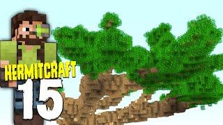 HermitCraft 7: 15   MEGA BASE CANOPY START