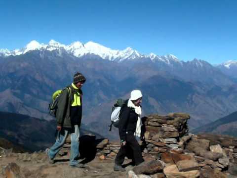 네팔 랑탕 트레킹  히말라야 안나푸르나 트레킹