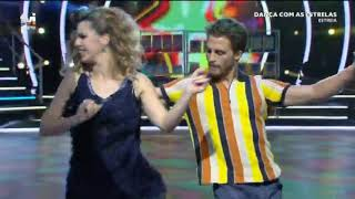 Dança com as Estrelas : Tiago Teotónio e Sara dançam Cha Cha Cha