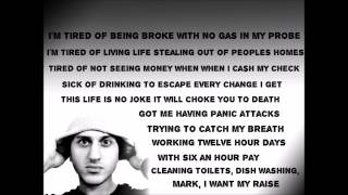 Denace - tired of being broke (lyrics) rap