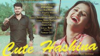 Latest Haryanvi Song || Cute Hashina by Raj Mawar || Anjali Raghav, Amit Choudhary, width=