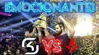 CS:GO - O DIA QUE A SK CALOU UMA ARENA INTEIRA! (Sk Gaming vs Astralis, Blast Pro Series FINAL)