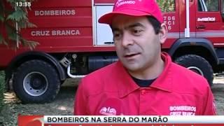 Bombeiros de Vila Real Têm Equipa Permanente na Serra do Marão