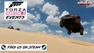 Forza Horizon 3 Trailer ReEdit - Steam Group Promo Video For Forza Horizon 3 Events