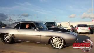 1969 Camaro / 24 x 15 Rims / 632 Big Block  / Dub Car show / Gears Wheels and Motors