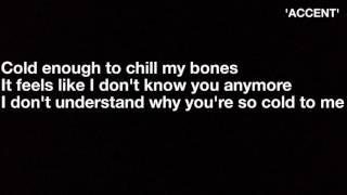 Maroon 5 -  cold ft. Future ( Lyrics )