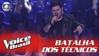 "Renan Zonta canta ""We Are The Champions"" na Batalha dos Técnicos – 'The Voice Brasil'   5ª Temporada"