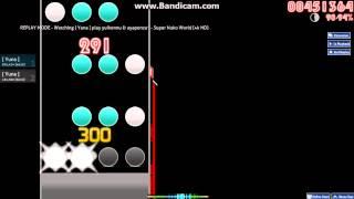[Let's try Osu!mania] yuikonnu & ayaponzu* - Super Nuko World [4k HD]