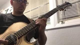 Mi  pequeña amante (bajo quinto) José Hernández