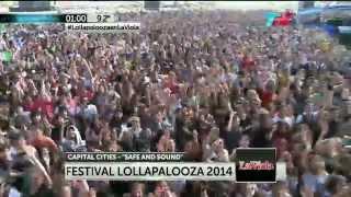 Capital Cities - Safe & Sound - Lollapalooza Argentina 2014