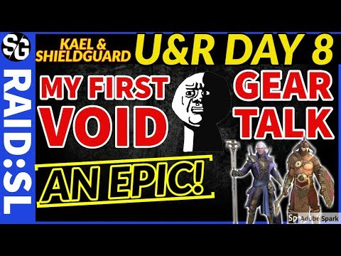 RAID SHADOW LEGENDS |  F2P DAY 8 | U&R | GEAR TALK