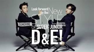 SUPER JUNIOR-D&E / 8月8日日本オリジナルアルバム「STYLE」ティザー
