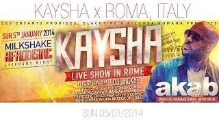 Flyers : 05/01/14 - Kaysha x Akab @ Roma, Italy