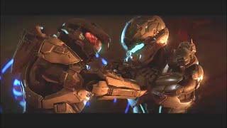 Halo 5 Master Chief vs Locke Fight Scene