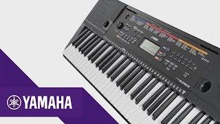 Yamaha PSR-E263 Características principales | Keyboards | Yamaha Music | Español