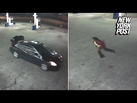 O femeie rapita scapa din portbagajul agresorului