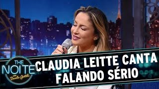 The Noite (18/05/16) - Claudia Leitte canta 'Falando Sério'