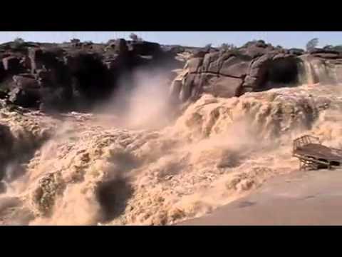 Augrabies Falls in Flood