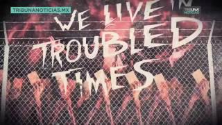 """""""Troubled times"""", el nuevo videoclip anti-Trump del grupo Green Day."""