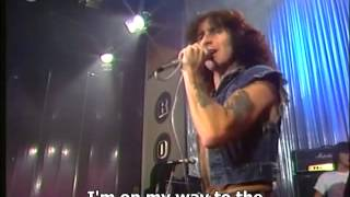 AC-DC - Highway to Hell (Live German TV with Bon Scott - 1979)--Subtitled
