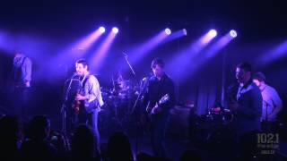 Sam Roberts Band - Them Kids (Up Close & Personal Live at the Edge)